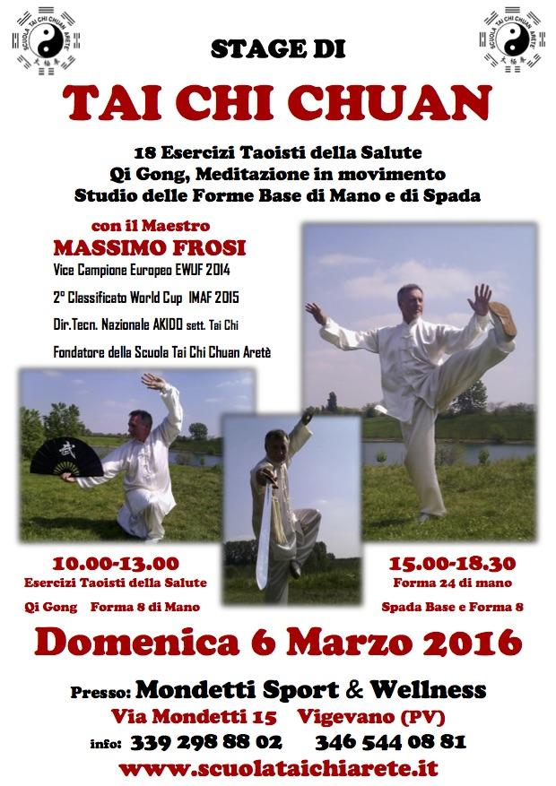 Prossimo evento: stage a Vigevano a marzo!