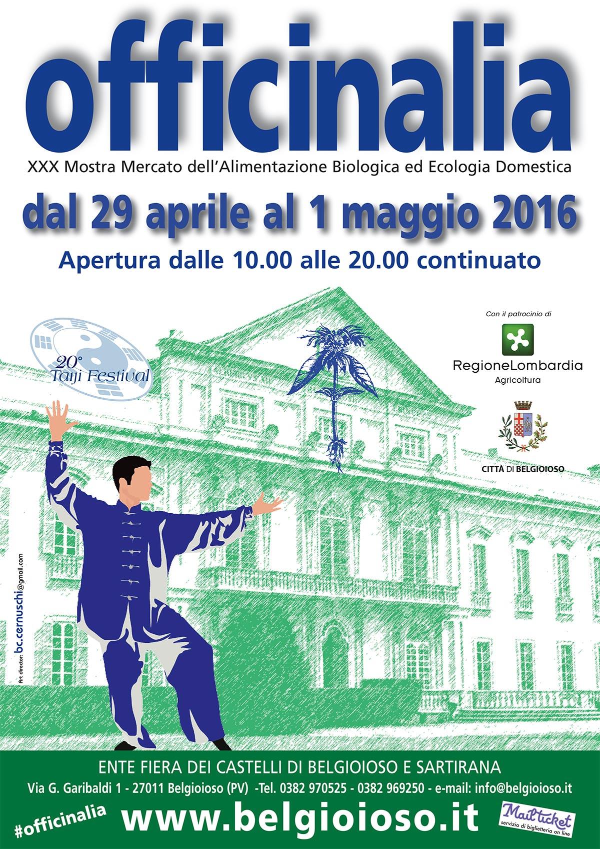 Belgioioso, TaiJi Festival, programma